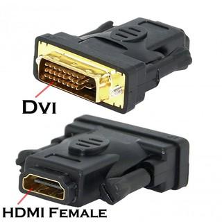 [Mã ELORDER5 giảm 10K đơn 20K] Bộ chuyển DVI to HDMI (24+1) (24+5)