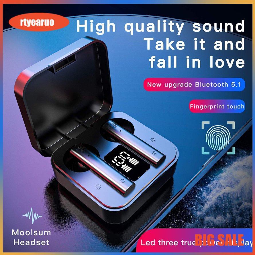 Tai Nghe Không Dây Bluetooth 5.0 BOSE Air2s TWS Màn Hình Kỹ Thuật Số