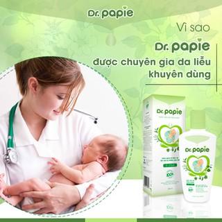 Sữa tắm thảo dược Dr Papie cho bé 230ml