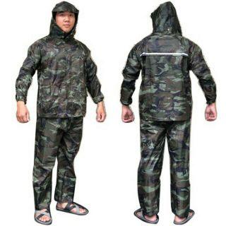 Áo mưa lính bộ người lớn ( size lớn_ ảnh thật _ hàng tốt )