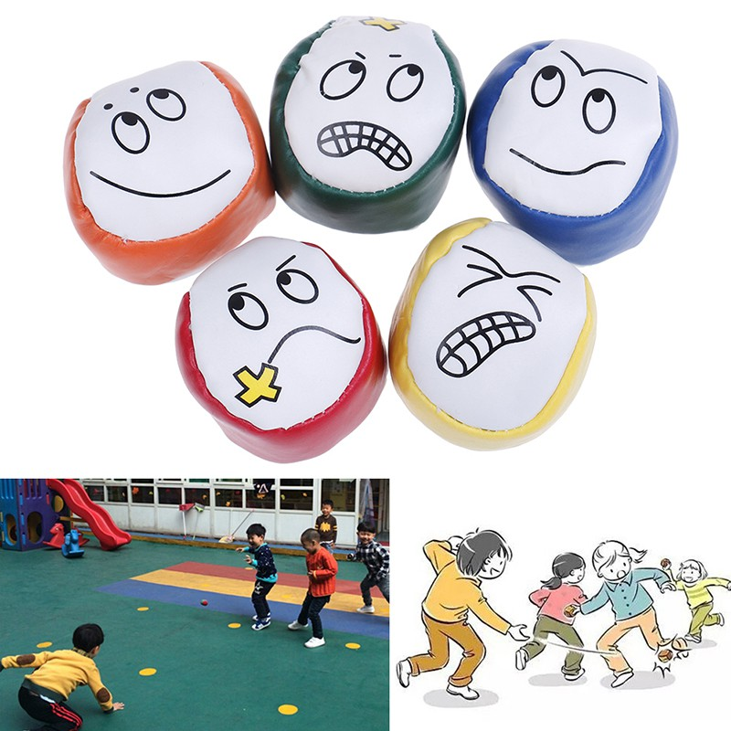 3Pcs/set Juggling balls classic bean bag juggle magic beginner kids toy
