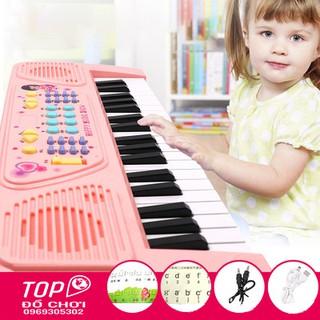 Đàn Piano Cho Bé, Dòng Đàn Thông Minh Kết Nối Điện Thoại Có Mic, Pin, Sạc Đầy Đủ.