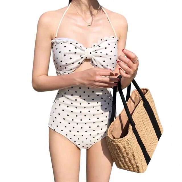 [Hàng Sẵn Quảng Châu Có Video & Ảnh Thật] Bikini Áo Tắm 2 Dây Hoạ Tiết Chấm Bi Hottrend 2020 Sang Chảnh Xịn Đẹp Sexy