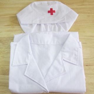 Bộ Áo Bác Sĩ Cho Trẻ Từ 3t Đến 8t