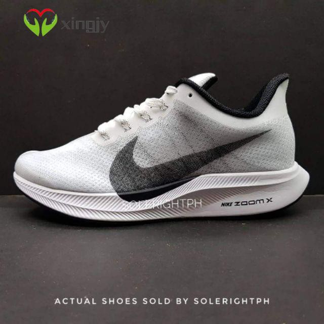 Nike Zoom Pegasus Turbo ' White / Black ' รองเท้าผ้าใบ