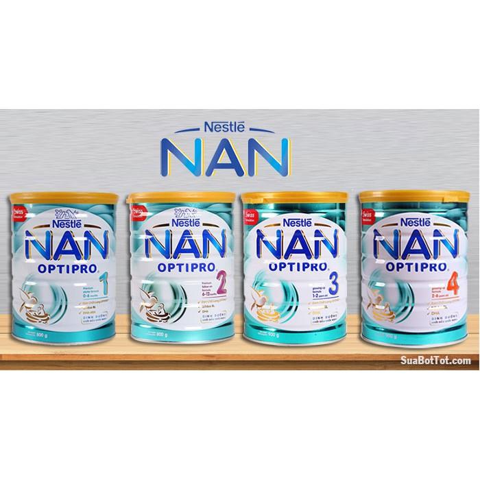 Sữa Bột Nestle NAN Optipro Số 1-2-3 (400-900g)