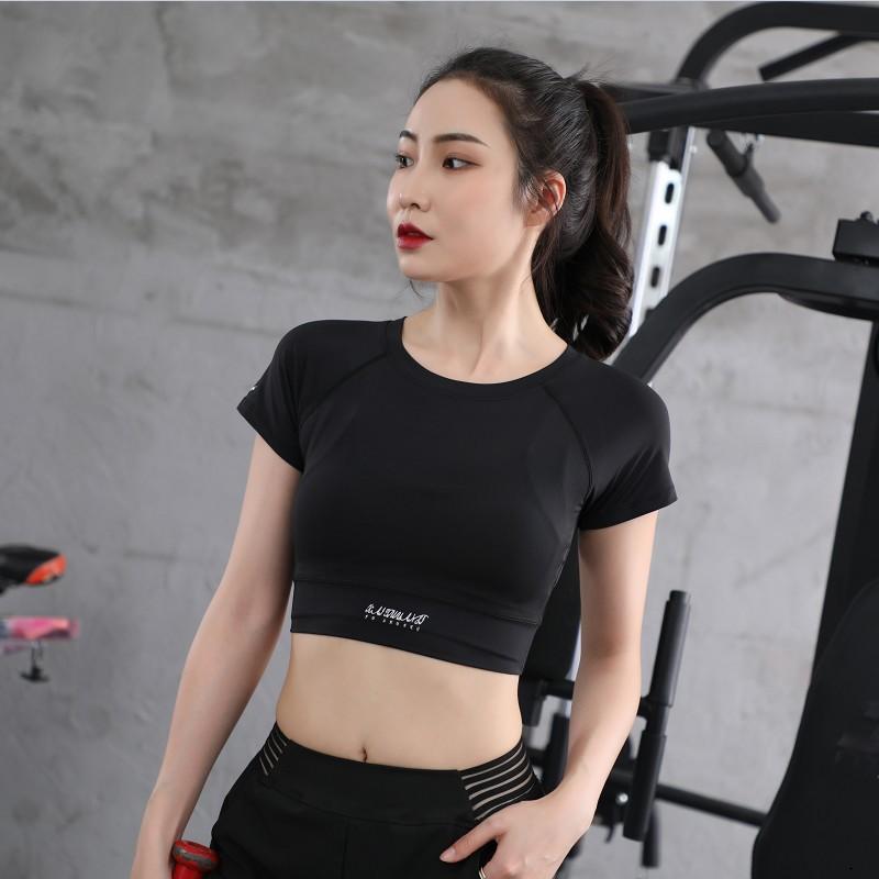 Mặc gì đẹp: Năng động với Áo tập gym, yoga nữ Louro FA57 áo croptop body dùng tập thể thao, gym, yoga, zumba, chất liệu siêu co giãn