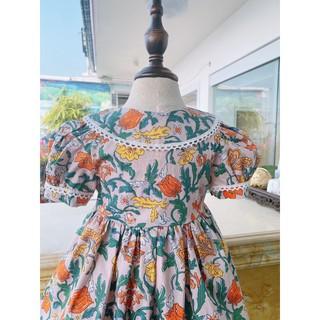 Váy cho bé gái từ 6- 32 kg, đầm thời trang trẻ em hè hàng thiết kế cao cấp VNXK cho bé từ 1 - 8 tuổi ( v8 )