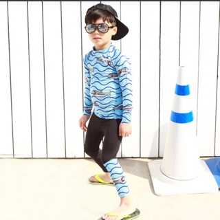 Đồ bơi tay dài quần dài bé trai thumbnail