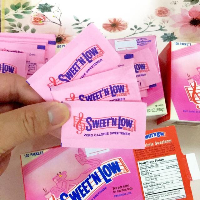 10 gói đường ăng kiêng, nhập USA.