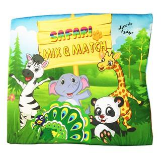 Sách Vải Pipovietnam Chủ Đề Safari Mix & Match