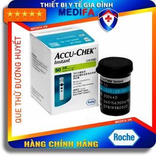 [Chính hãng] Hộp 50 Que thử đường huyết ACCUCHEK INSTANT - ROCHE, Accu-chek instant thumbnail