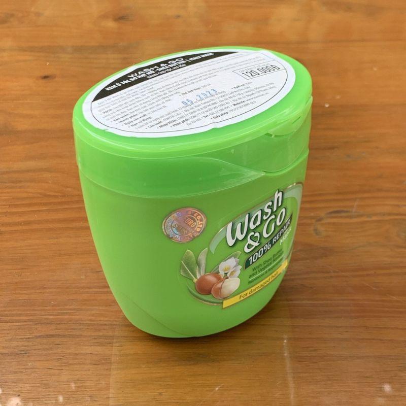 Wash&Go - Ủ Dưỡng Tóc Wash&Go Bơ Hạt Mỡ 300gr