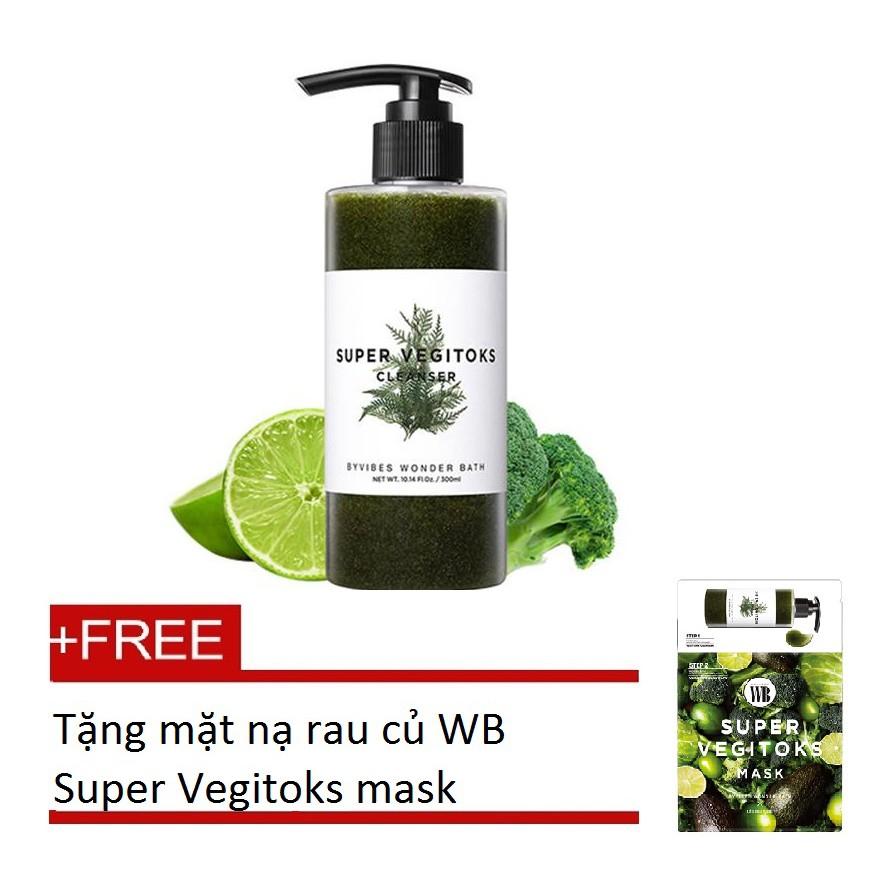 Sữa Rửa Mặt Thải Độc Rau Củ Super Vegitoks 300Ml + Tặng 1 mặt nạ rau củ Super Vegitoks mask - 3540265 , 1309149947 , 322_1309149947 , 500000 , Sua-Rua-Mat-Thai-Doc-Rau-Cu-Super-Vegitoks-300Ml-Tang-1-mat-na-rau-cu-Super-Vegitoks-mask-322_1309149947 , shopee.vn , Sữa Rửa Mặt Thải Độc Rau Củ Super Vegitoks 300Ml + Tặng 1 mặt nạ rau củ Super Vegitoks