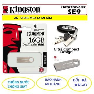 USB Kingston DTSE9 32GB/16GB/8GB 2.0 – HÃNG PHÂN PHỐI CHÍNH THỨC (BH 60 tháng)