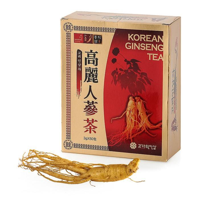 Hộp trà nhân sâm Korean Ginseng Tea 50 gó