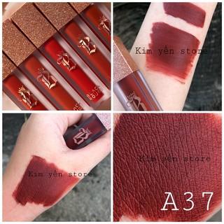 Son Black Rouge Air Fit Velvet Tint Ver 7 Velvet Crown The King ( chất son handmade ) thumbnail