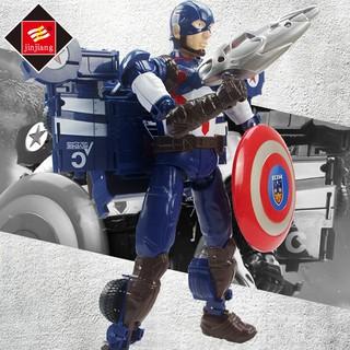 Đồ Chơi Mô Hình Nhân Vật Captain America 4 3