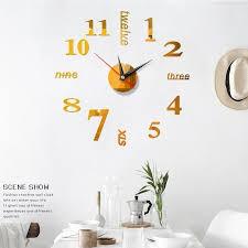 đồng hồ dán tường twelve
