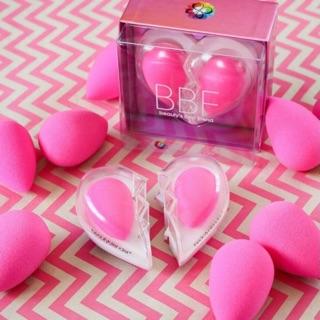 Tách set mút trang điểm Beauty Blender (có kèm xà bông rửa mút)