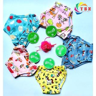 Combo 10 Quần Tập Bỏ Bỉm Dorabe Việt Nam Size 1 2 3 4