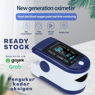 Máy đo nồng độ oxy trong máu SpO2 có đèn LED nhiều màu sắc LK87 thumbnail