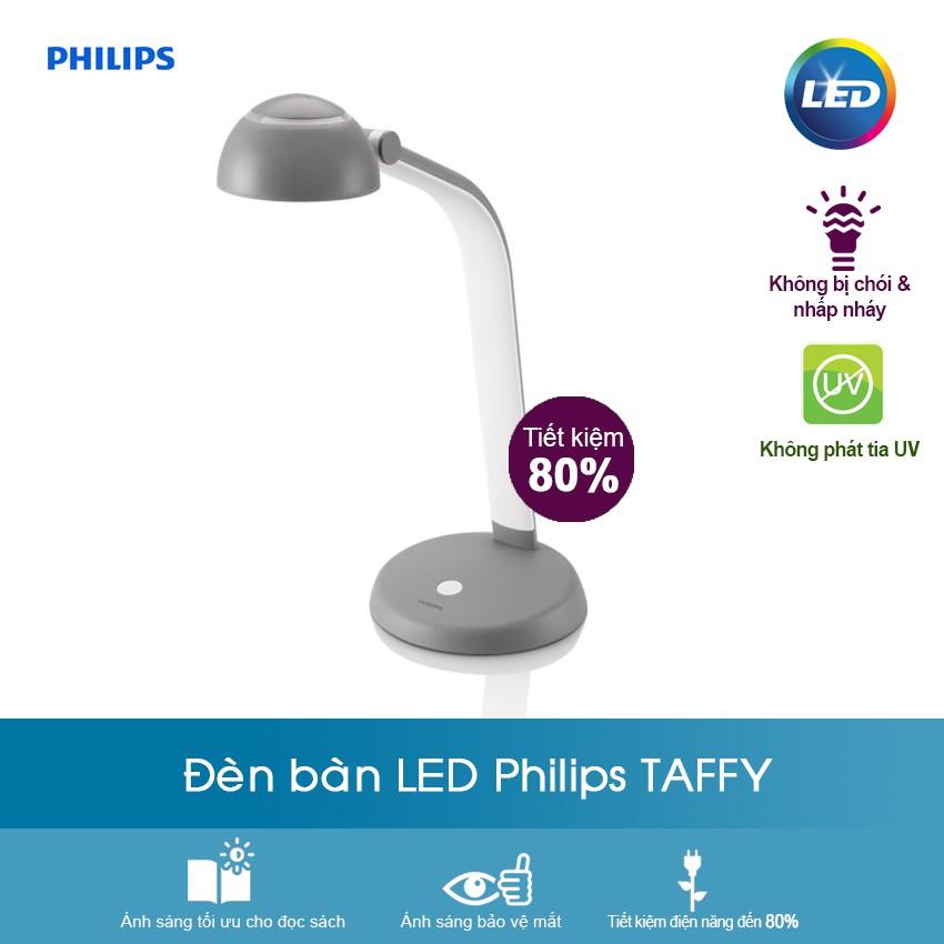 Đèn Bàn Led Philips Taffy 1x3.6W