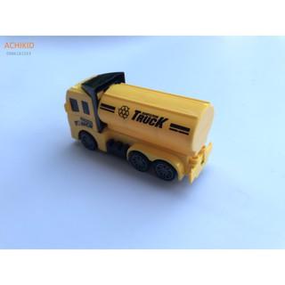 Đồ chơi xe ô tô Truck xinh xắn màu vàng có bánh đà cho bé giá rẻ siêu ưu đãi 6