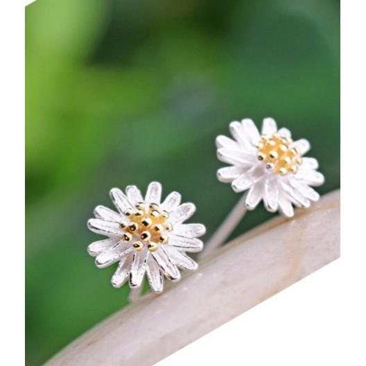 Bông tai bạc hoa cúc nhiều cánh Hàn Quốc - 3272659 , 563227592 , 322_563227592 , 40000 , Bong-tai-bac-hoa-cuc-nhieu-canh-Han-Quoc-322_563227592 , shopee.vn , Bông tai bạc hoa cúc nhiều cánh Hàn Quốc