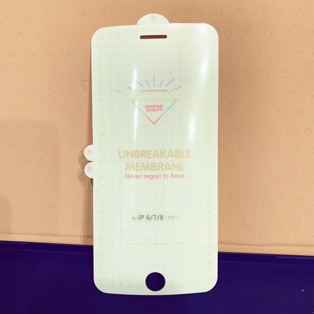 Dán dẻo PPF mặt trước cho IPhone 6 Plus /7 Plus /8 Plus