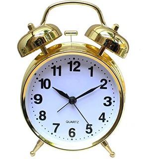 Đồng hồ báo thức chuông reo lớn có đèn Led xem giờ ban đêm
