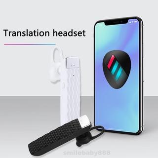 33 Languages Business Translation Portable Universal Wireless Bluetooth Earphone