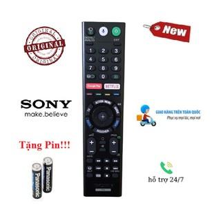 Remote Điều khiển tivi Sony giọng nói- Hàng mới logo Sony mạ bạc BH 6 tháng Tặng kèm Pin