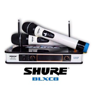 Bộ micro không dây hát chuyên nghiệp shure BLXC8