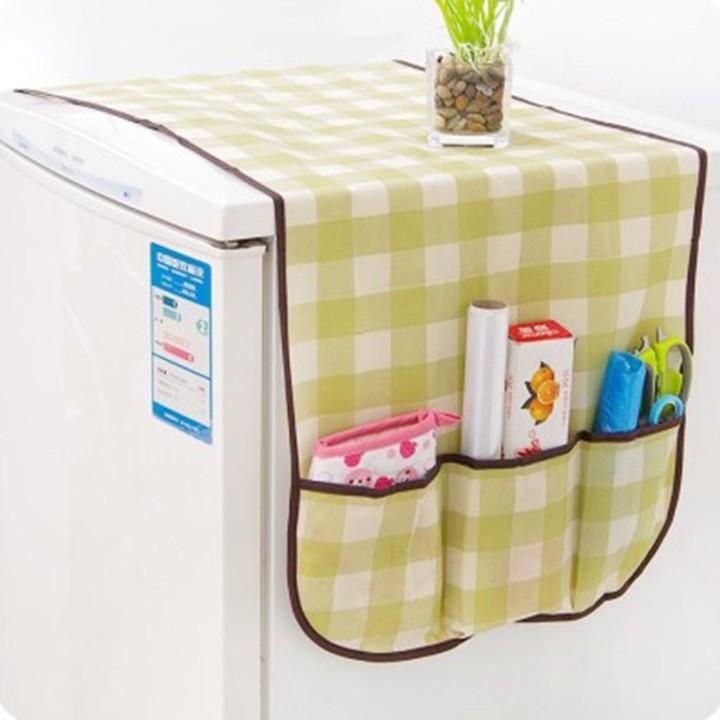 Tấm phủ trùm tủ lạnh vải không dệt có túi đa năng tiện dụng chống thấm nước  bụi bẩn bibi90 usa_store | Shopee Việt Nam