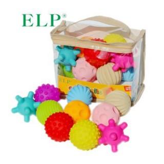 Bộ 10 bóng an toàn giúp bé phát triển cảm quan Soft ball