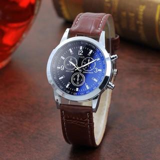 Đồng hồ nam thời trang cao cấp dây da CFHD DH101 Siêu Đẹp