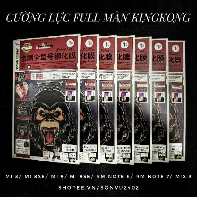 Cường lực full màn cao cấp KingKong WK cho các dòng máy Xiaomi
