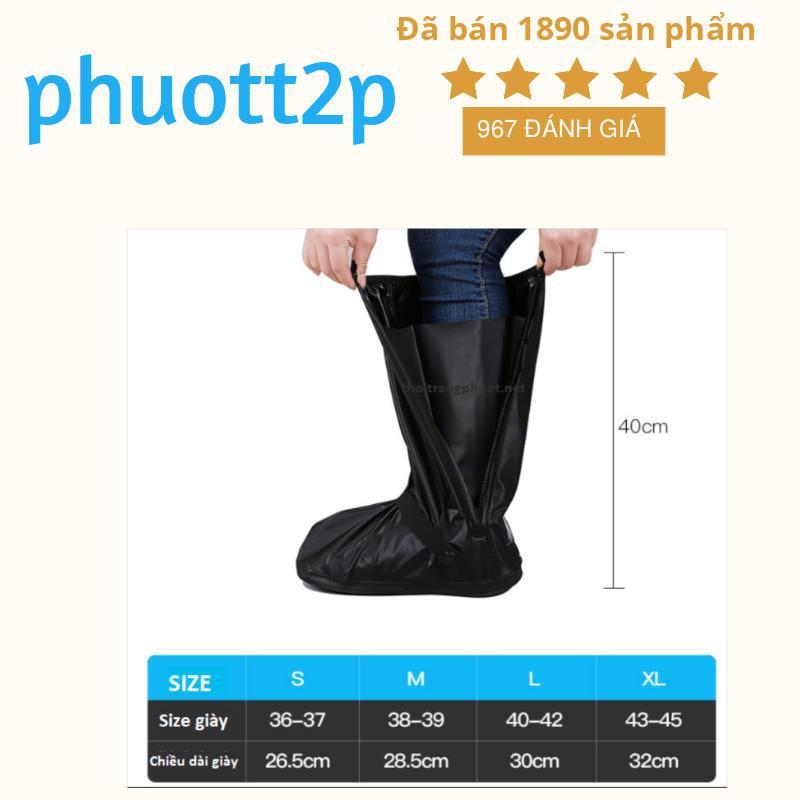 Bọc giày đi mưa / Ủng đi mưa chống thấm