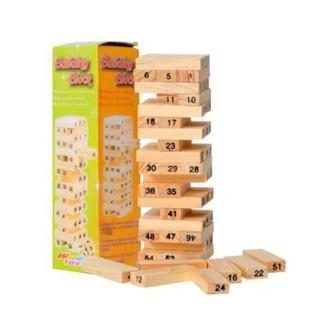 Bộ đồ chơi rút gỗ loại lớn Obán cho vui