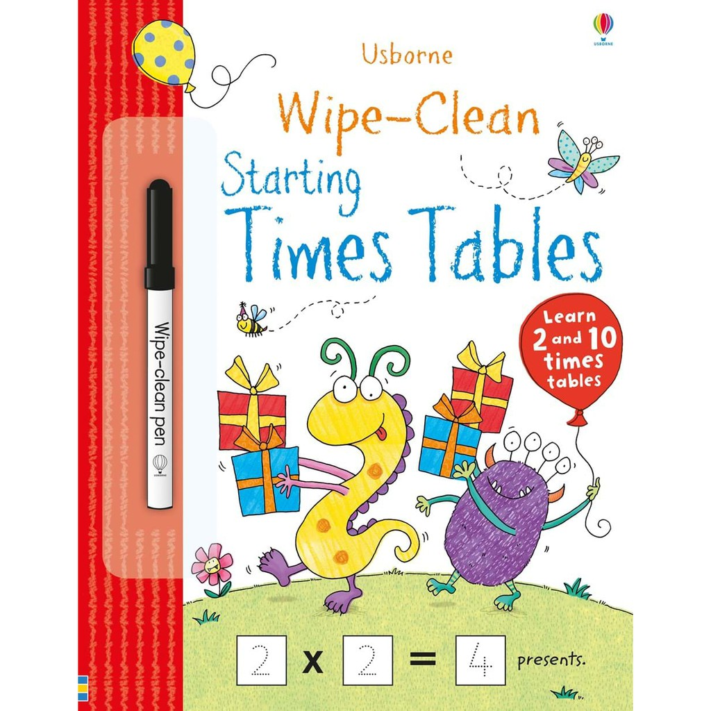 Sách - Wipe Clean Starting Times Tables