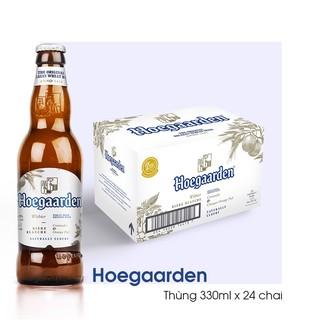 [Chính hãng, Date dài] Bia Hoegaarden 330ml x 24 chai/lon
