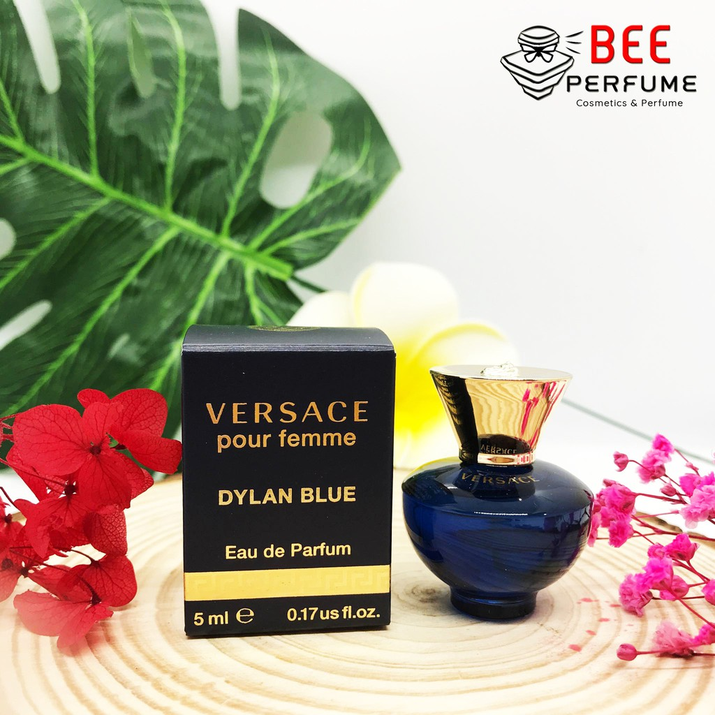 Nước hoa mini Versace Dylan Blue EDP 5ml chính hãng cho nữ