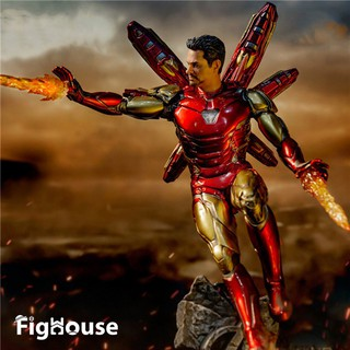 Mô hình Figure Iron Man MK85 Action Figure PVC Mark 85 Nano Weapons Tony Stark Legends Model Toy