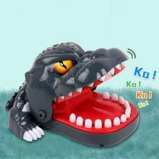 Kids Small Tricky Dinosaur Animal Bite Finger Toy Desk Game