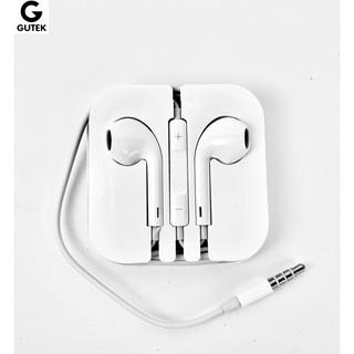 Tai nghe nhét tai có dây 3.5mm giá rẻ dùng cho điện thoại tương thích iphone androi Gutek G10