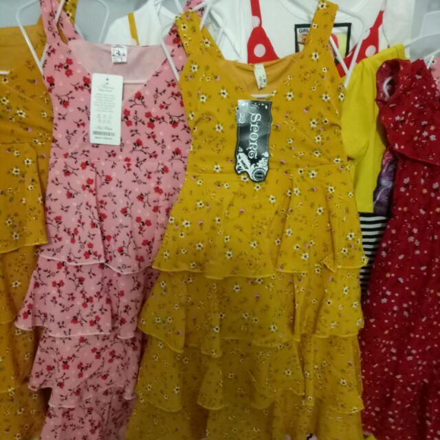 Combo 2 sét váy tầng cho bé