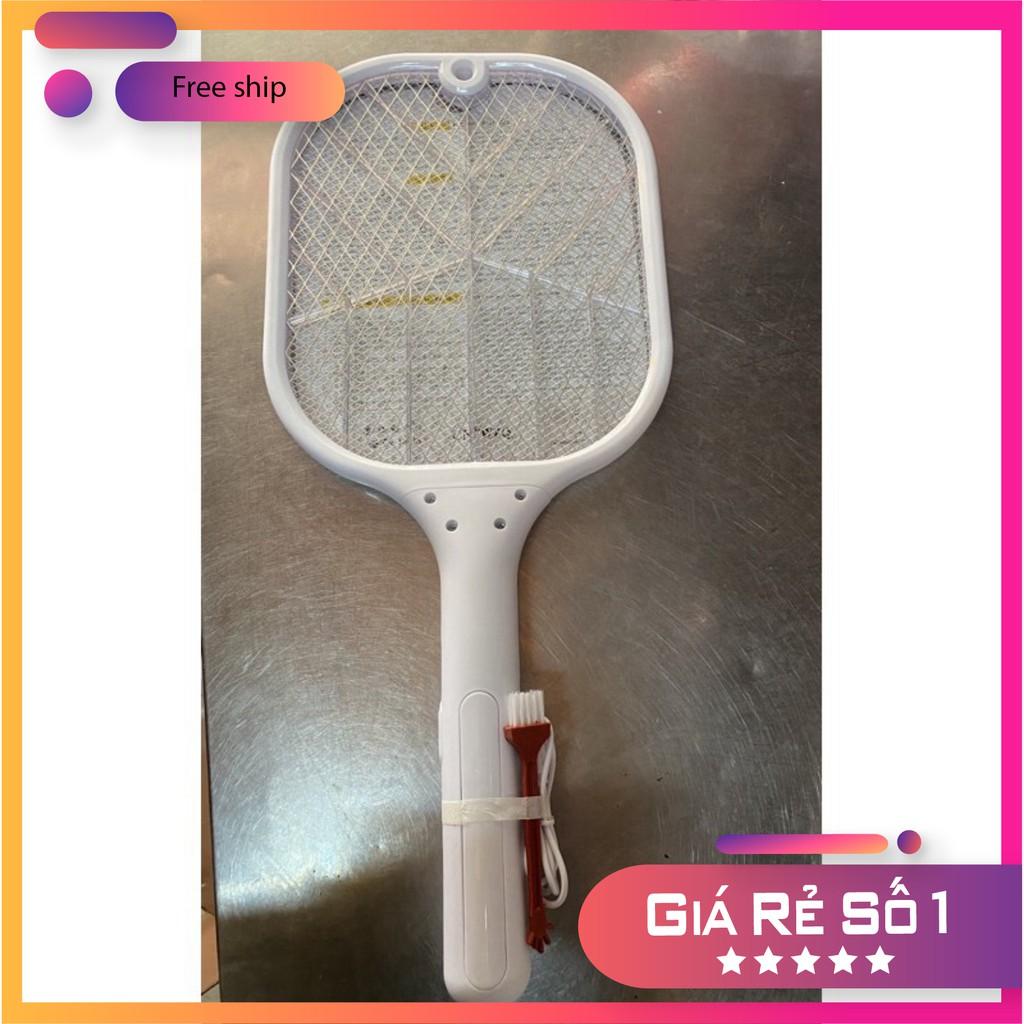Giá bán Đèn bắt muỗi kiêm vợt muỗi 2in1 cao cấp sạc pin cổng usb