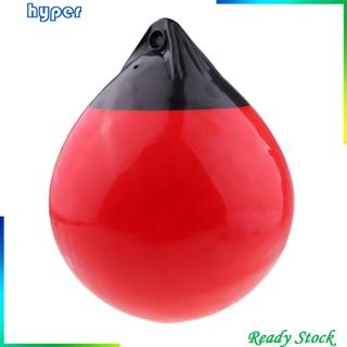 [hyper*] Boat Buoys Ball 12 x 14″ Buffer Boat Marine Mooring Buoy Red