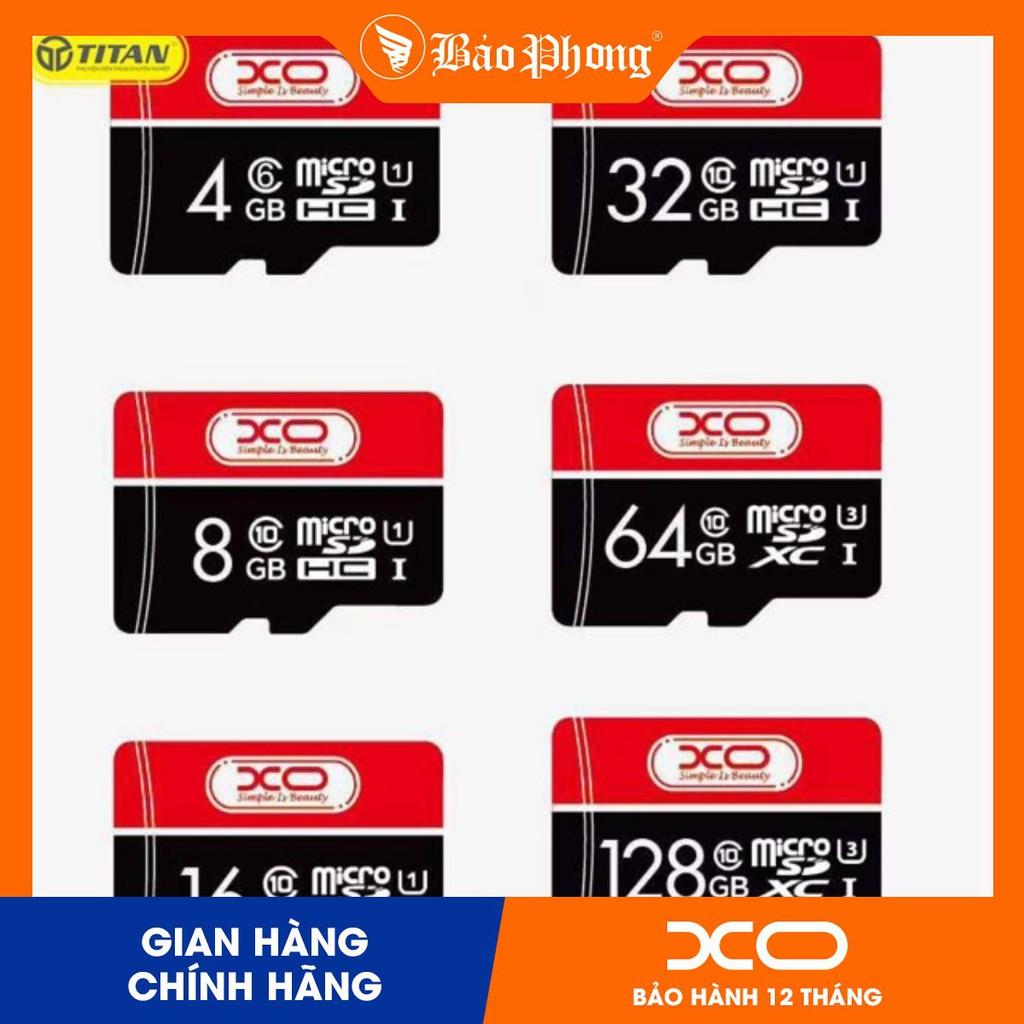 Thẻ Nhớ Micro SD 16Gb/32Gb/64Gb Class 10 Chính Hãng XO